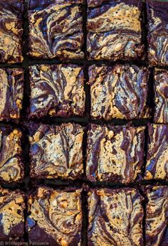 chocolate peanut butter swirl-brownies with dates gluten-free-vegan-dairy-free-easy-delicious
