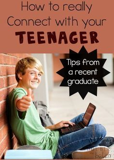 How to Really Connect with Your Teenager - Double the Batch #ParentingTeenagers