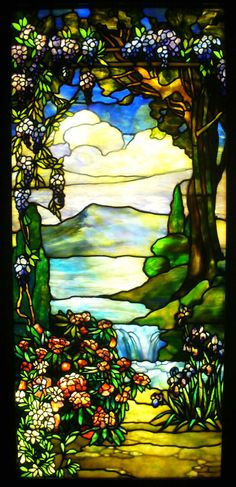 Tiffany glass -