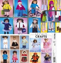 """free 18 inch doll clothes patterns printable 