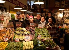 Sosio's Produce. Rich will love to visit this place to compare