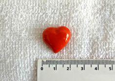 Coração feito de Biscuit para aplique. Cores variadas, veja nosso mostruário.