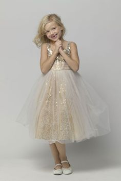 The dress my two youngest nieces will wear as Jr. Bridesmaids - they're very excited!