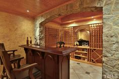 Do you dream of #winecellars and #winebars? Look no further, because your dream has come true! #GovernorsClubRealty #GovernorsClub #ChapelHillRealEstate