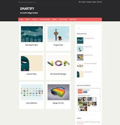 _CTPG_: Template Blogspot - Smartify Gallery - Responsive