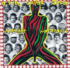 Classic. A Tribe Called Quest. Iconic Album Covers