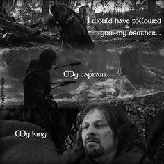 Boromir at Amon Hen