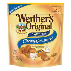 Werther's Caramel, Fresh Cream, Cream White, Sugar Free Candy, Snack Recipes, Snacks, Caramels, World Recipes, Family Traditions