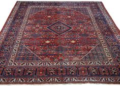 JOSHEGAN, Central Persian 9ft 1in x 11ft 9in Circa 1910 http://gallery.claremontrug.com/gallery/?p=1&g=4&gg=Claremont%202%20-%20Fabulous%20Old%20Rugs!