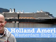 Come on a tour with Gary Bembridge of the revamped Holland America Line Westerdam cruise ship. During a dry dock in 2017 many new features were added to the ship that are now being rolled out across t Holland America Alaska Cruise, Holland America Line, Holland Cities, Visit Holland, Holland Beach, Med Cruises, Cruise Travel, Where To Go, Places To Visit