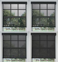 Bali® Solar Shades: Skylar (10% Openness)