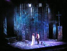 The Crucible. Towson University. Scenic design by Daniel Ettinger.