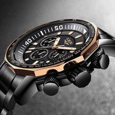 7499e0ff173a3 Relojes Hombre 2018 New LIGE Fashion Mens Watches Luxury Brand Business Quartz  Watch Men Sport Waterproof Big Dial male watch
