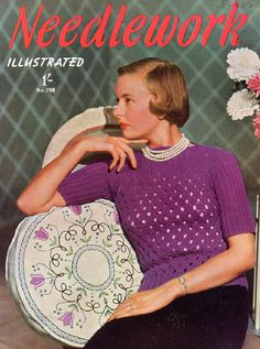 The   Vintage   Pattern   Files: 1940's Knitting - Ladies Jersey