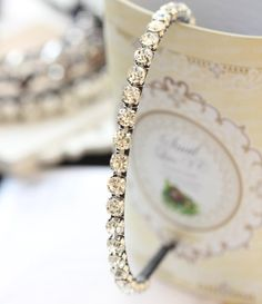 Smile Arrival Korean Super Shining Rhinestone Luxury Hairband Wedding Accessories >>> Check out this great product.