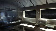 Welcome home   futuristic home concept   cyberpunk