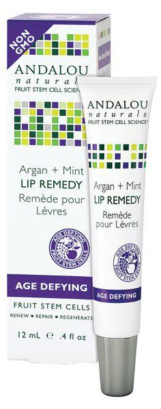 Andalou Naturals Lip Remedy Argan + Mint