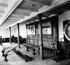 Interior Titanic Photos