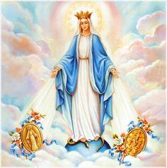 Petali di ciliegio...per coltivare la speranza: Maria Immacolata della Medaglia miracolosa
