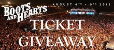 Boots and Hearts 2015 Ticket Giveaway TheReviewsAreIn