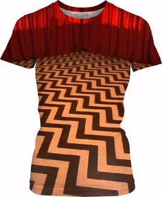 Walk With Me Between Realms Women's T-Shirt Clothing 1990's vintage fashion twin style rad awesome vaporwave Japan Hip Hop Street fire Wear music goth punk peaks Red Black Television Horror Series mystery twin peaks lynch agent dale cooper damn fine coffee laura palmer fire walk with me showtime tv owls not what they seem log lady bob