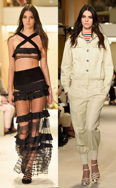 Kendall Jenner Continues Her Paris Fashion Week Takeover, Walks at Sonia Rykiel   Kendall Jenner, Paris Fashion Week