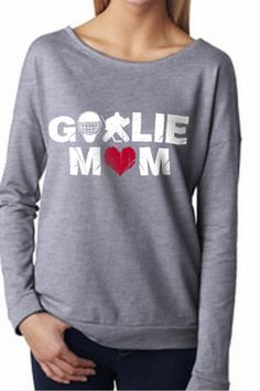 Goalie MOM long sleeved t-shirt