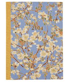 Large Blue Buds 2014 Diary | Diaries from the Stationary collection | Liberty.co.uk