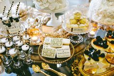 Great Gatsby wedding inspiration   Real Weddings and Parties   100 Layer Cake