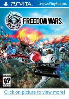 Freedom Wars (Sony PlayStation Vita, for sale online Xbox One, Best Buy Coupons, Ps Vita Games, Nintendo, Japan, God Of War, Cultura Pop, Studio, Fun Games