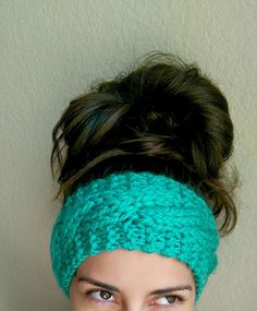 Chunky Cable Knit Headband   The Snugglery   A Place for Yarn Lovers