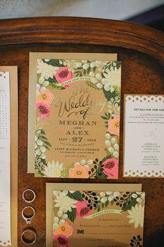 Invitación de boda rústica ¿qué te parece?