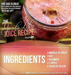 The Yes to Life Juice Recipe