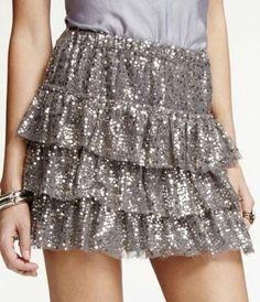 Express sequence skirt