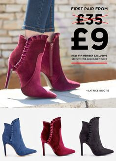 583a59fd7 JustFab s Top 3 Boots of the season. Welcome Back Autumn
