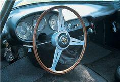 Alfa Romeo Giulietta Goccia (Michelotti), 1961 - Interior - Photo: Phil Ward / Auto Italia magazine