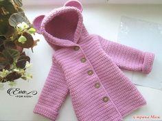 Кардиганчик для девочки. Простой узор, простой фасон и девичий цвет.. [] #<br/> # #Crochet #Quilt,<br/> # #Sock,<br/> # #Crochet #Clothes,<br/> # #Crochet #Patterns,<br/> # #Hairstyles,<br/> # #Clothing,<br/> # #Long #Sleeve,<br/> # #Boleros,<br/> # #Of #Agujas<br/>