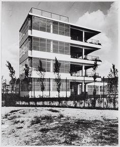 Open Air School Amsterdam, Netherlands Jan Duiker, Bernard Bijvoet, 1930