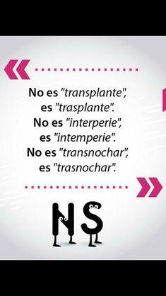 Spanish Grammar, Spanish Vocabulary, Spanish Words, Spanish Language Learning, Spanish Lessons, Teaching Spanish, Writing Skills, Writing Tips, Unusual Words
