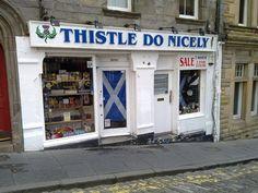 Edinburgh - great play on words!