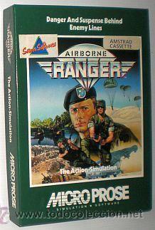 Airborne Ranger [1987] [MicroProse] [SERMA Software] [AMSTRAD CPC] Cassette