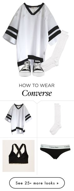 """""""""""It's better to Burn out then to fade away"""" -KC"""" by j-j-fandoms on Polyvore featuring Calvin Klein, Aerie, Kate Spade and Converse"""