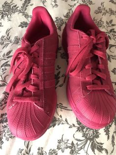 a123b38f90a4cc Adidas ORIGINALS Womens Shoes hot pink Size 7  fashion  clothing  shoes   accessories