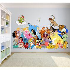 Disney Themed Bedrooms, Disney Themed Nursery, Nursery Themes, Pixar Nursery, Nursery Room, Bed Room, Girl Nursery, Girls Bedroom, Bedroom Ideas