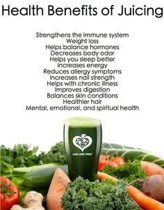Your body gets all the nutrients without having to work hard to digest them which means you get the nutrients in your body faster than when you drink smoothies or eat veggies. benefits of juicing Juicing For Health, Health And Nutrition, Health Tips, Healthy Juices, Healthy Drinks, Detox Juices, Detox Drinks, Raw Food Recipes, Healthy Recipes
