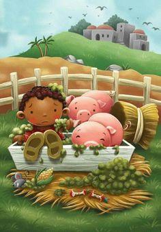 Bible Stories For Kids, Bible Study For Kids, Preschool Bible, Bible Activities, Sunday School Activities, Sunday School Crafts, Bible Cartoon, Idees Cate, Toddler Bible