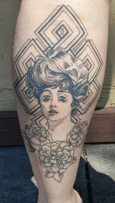 By Voodoo at Voodoo Monkey Tattoo, Rochester New York.