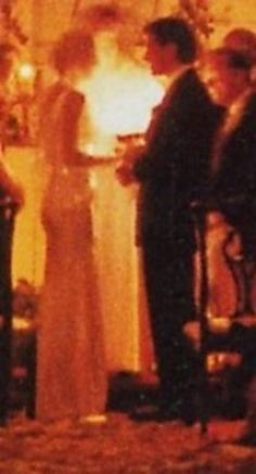 Carolyn Bessette Kennedy and John's wedding...poignant indeed