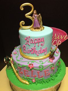 Tangled Cake | Exclusive Cake Shop | Flickr