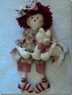 Boneca Annie e seu Gatinho  Um show de boneca! Há muito, muito tempo que venho ensaiando para confeccionar uma Annie. Enfim chegou o momento…